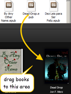 Add EPUB books to Adobe Digital Editions
