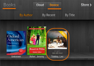 Transfer books to Kindle Fire (HD)
