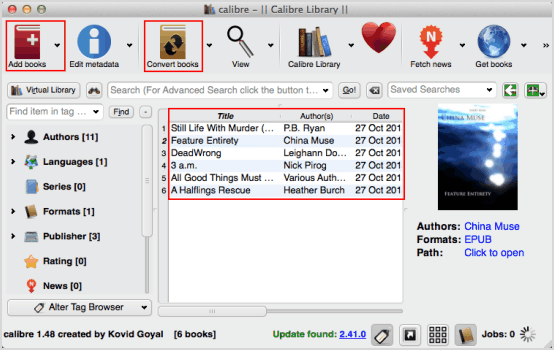 How to Convert EPUB to Mobi Mac