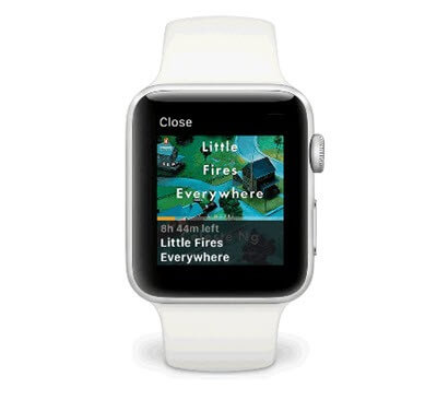 listen to audible apple watch