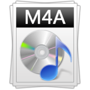 m4a audiobook format