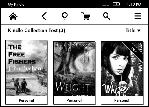 manage my kindle books