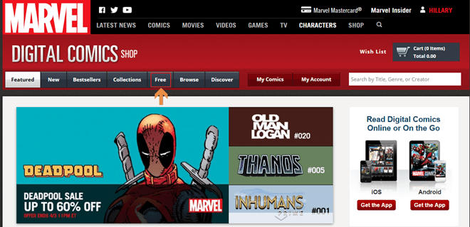 10 Best Sites for Free Comic Books