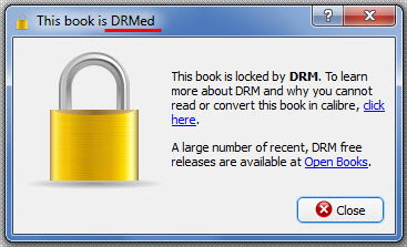 open drm protected lit files