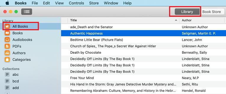open kindle books in ibooks