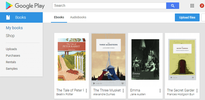 How to Read Google Play Books on Kindle/Kobo/Nook