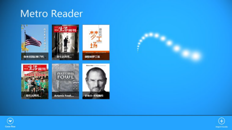 read eBooks on Microsoft Surface PT / Pro (win 8) tablets - Metro Reader