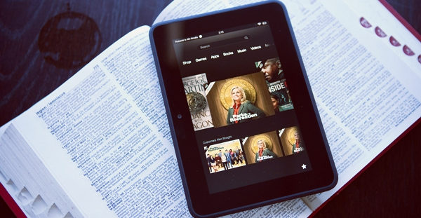 read google play books on Kindle fire