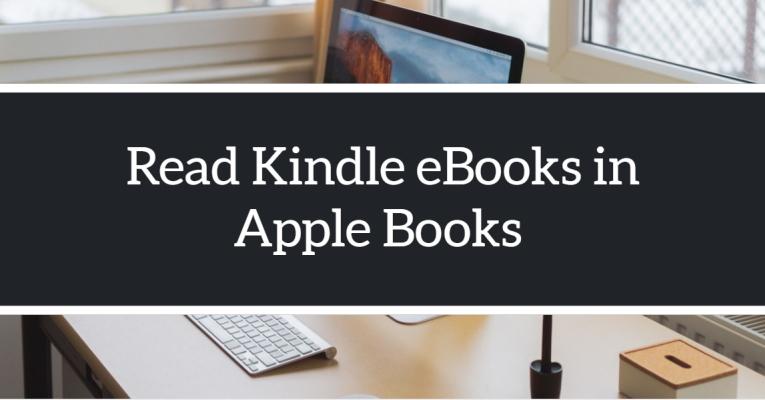 Read Kindle Books in iBooks