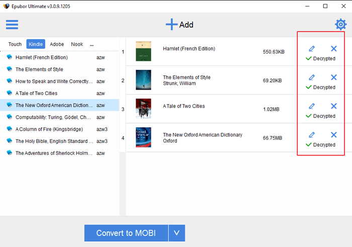 How to Remove Kindle DRM on Windows 8
