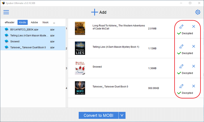 remove drm from Kindle books