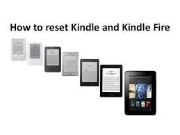Kindle frozen won t reset