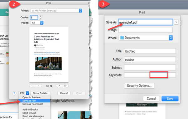 How to Export Evernote to PDF: A Complete Guide