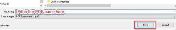 fill in file name