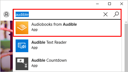 audible for windows 10 download