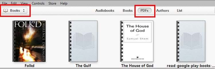 how to  pdf files to ibookstore