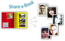 share books with friends