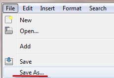 save as EPUB