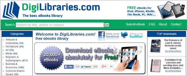 sites to download free kobo books