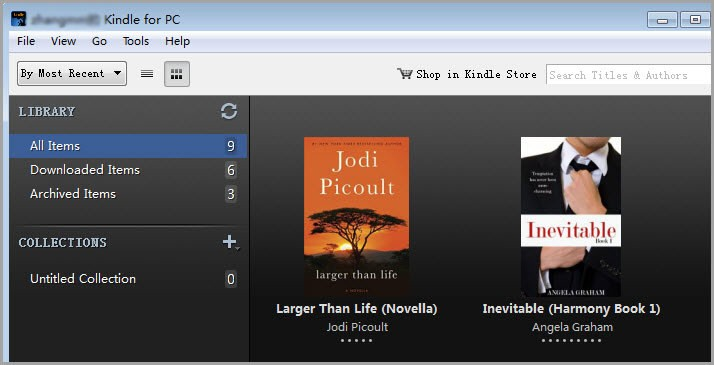 sync kindle ebook to kindle for pc
