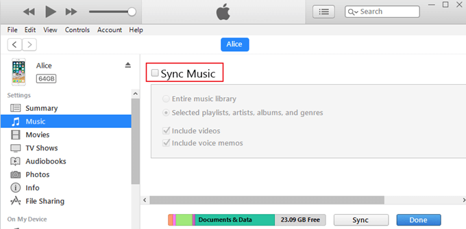 how to transfer mp3 to iphone rh epubor com iTunes Wi-Fi Sync to iPhone 5 Sync iPhone