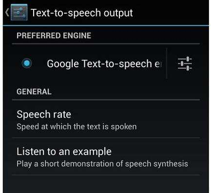 Text-to-Speech Kindle Android