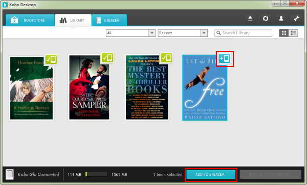 Solved: how to find the 1 million free ebooks on kobo up.