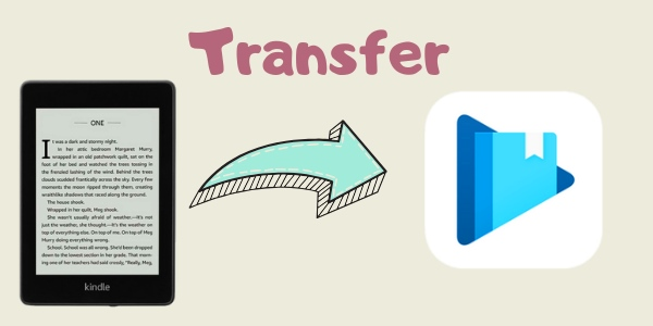 transfer kindle books to Google Play