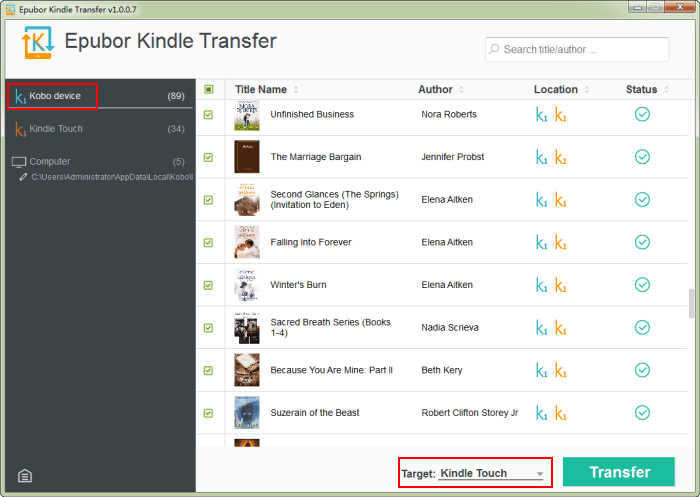 Transfer Kobo Books To Kindle