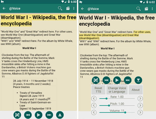 Best 8 Text to Speech Apps for Android