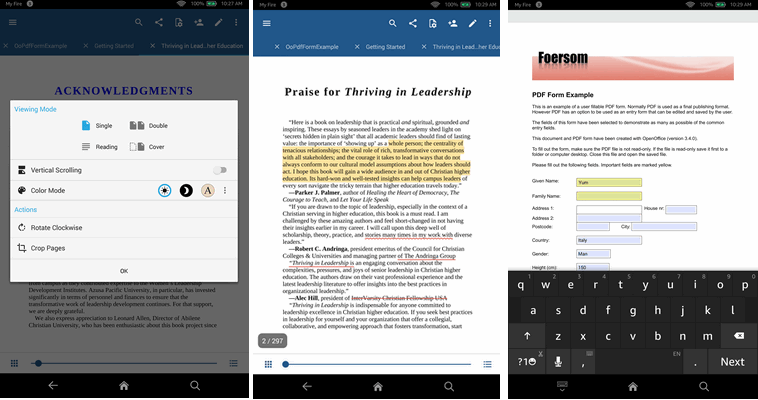 5 Best PDF Readers for Android 2019